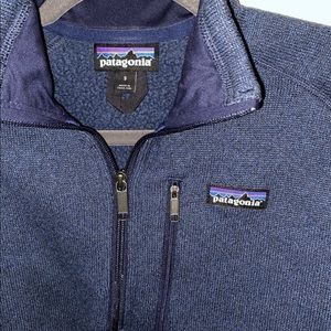 Men's Patagonia quarter zip Better Sweater small